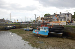 Boats at the Claddagh in Galway City