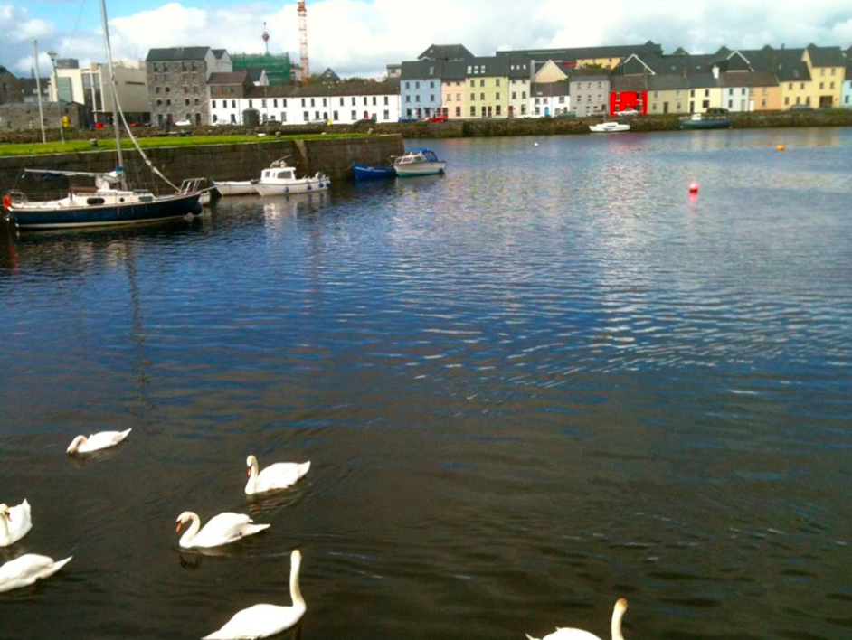 The Claddagh in Galway City