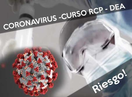 Coronavirus y curso de DESA ¡Riesgo!