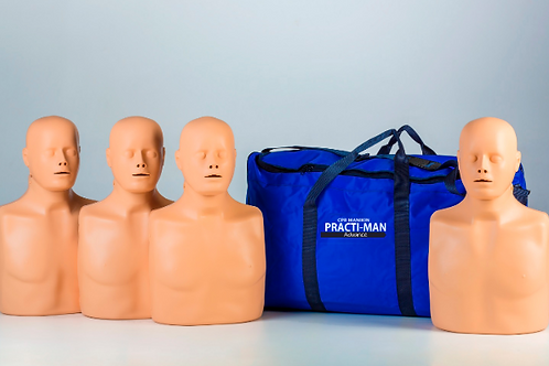 PACK 4 unidades PRACTIMAN + maleta de transporte