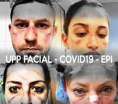 Covid 19 y úlceras faciales en personal sanitario: solución