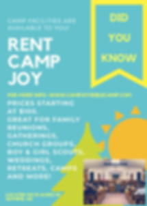 Camp JOY Rental Guthrie Oklahoma