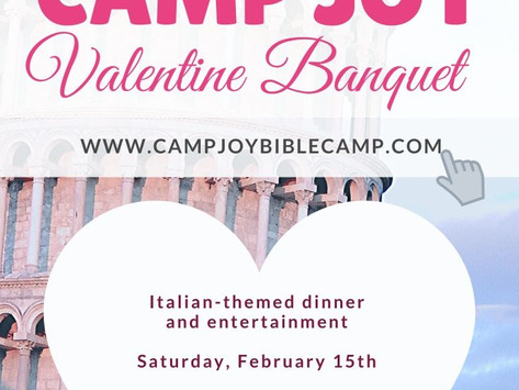 This Year's Valentine Banquet is Italian-Themed