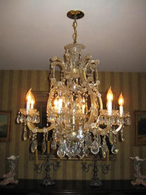"FRENCH VENETIAN 28"" CHANDELIER"