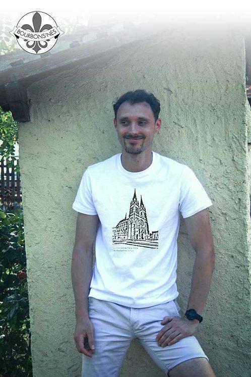 """T-shirt Homme """"Cathédrale de moulins"""""""