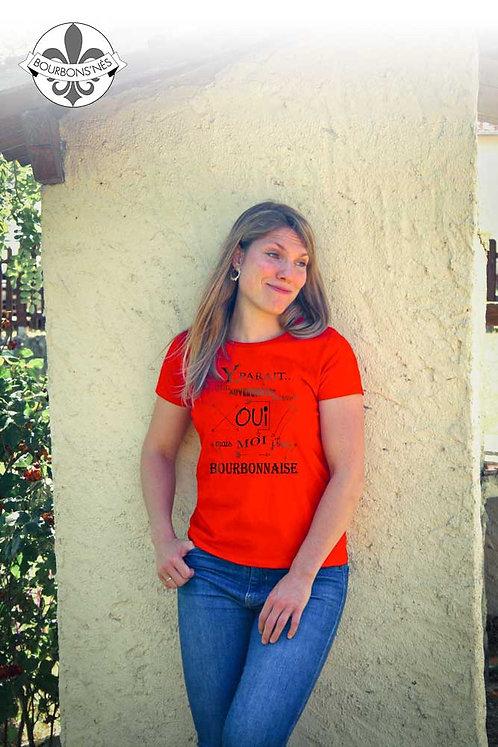 """T-shirt Femme """"Y parait..."""""""