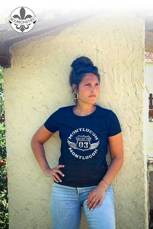 """T-shirt Femme """"Made in Montluçon"""""""