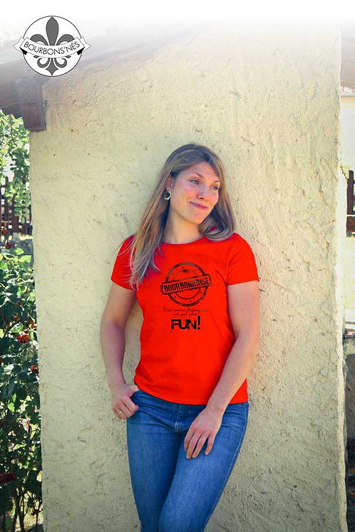 """T-shirt Femme """"Bourbonnaise Fun"""""""