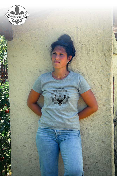 "T-shirt Femme ""Mandala Cerf"""