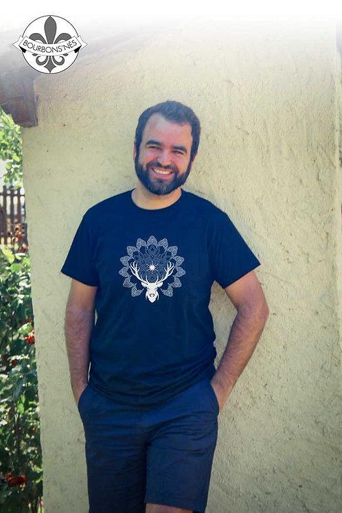 """T-shirt Homme """"Mandala cerf"""""""