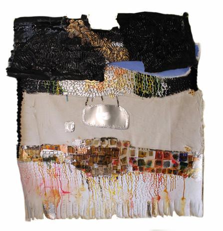 15,Mixed media on canvas