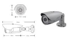CVT-B06E: STARVIS 2.1M Outdoor 54IR, Low light sensor