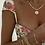 Thumbnail: Baby Bezel Tennis Bracelet - Gold