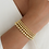 Thumbnail: Gold Beaded Bracelets