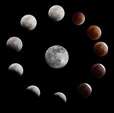 Lunar eclipse on 10 December 2011 from