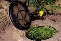 Chalice Well, Red Spring, Glastonbury, S