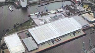 Seehafen Terminal Harburg