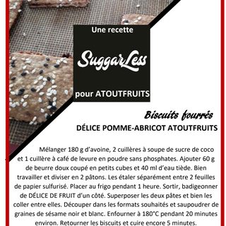 Recette Biscuits Fourés