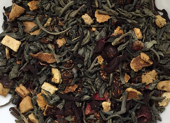 Fruits of Winter Green Tea