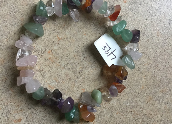 Assorted Stone Gemstone Bracelet