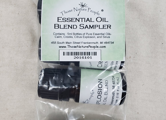 Essential Oil Blend Sampler- NEW!