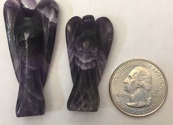 Amethyst Angel Figure