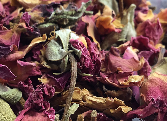 Rose Petals and Buds - Red 1oz