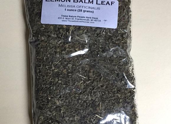 Lemon Balm Leaf 1oz