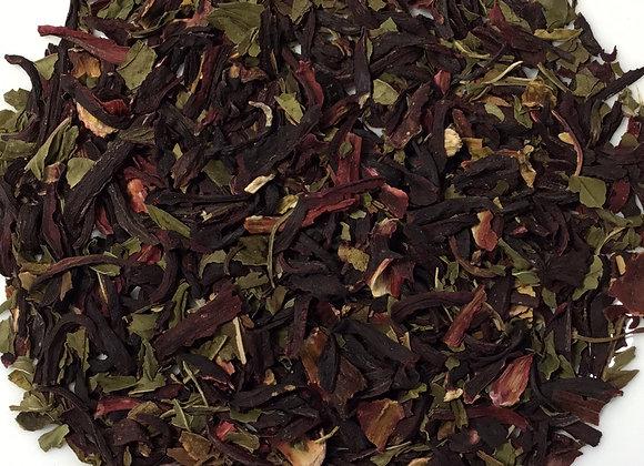 Hibiscus Mint Herbal Tea