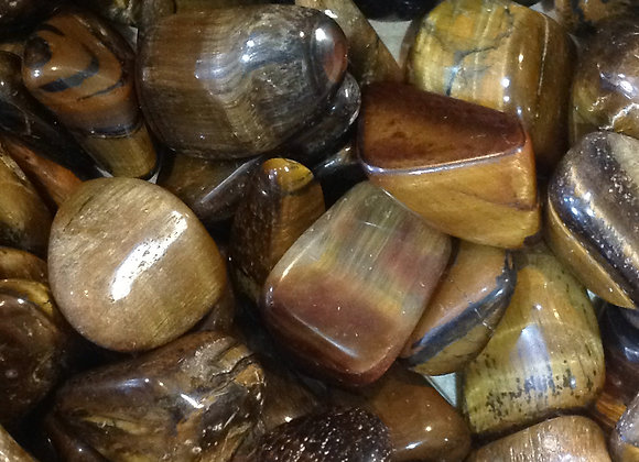 Golden Tiger's Eye Tumbled