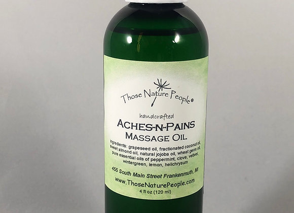 Aches-n-Pains Massage Oil