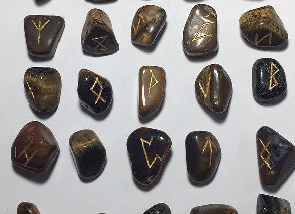 Rune Symbol Set - Tigers Eye
