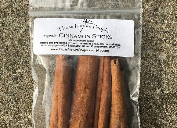 "Cinnamon Stick 2 3/4"" 4 pack"