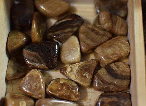Chocolate Calcite Tumbled