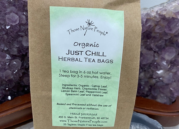 Just Chill Herbal Teabags