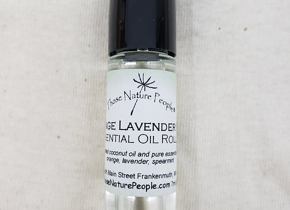 Orange Lavender Mint Essential Oil Roller