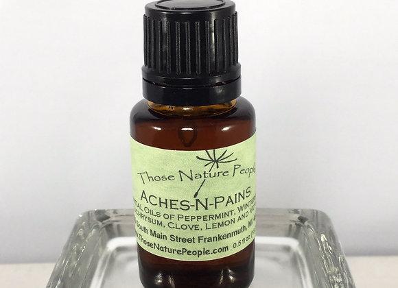 Aches-N-Pains Essential Oil Blend 15ml