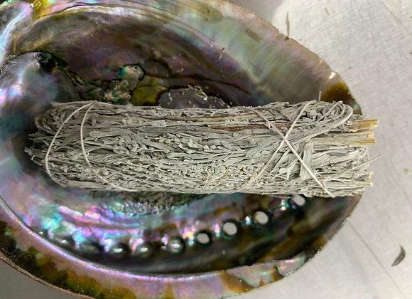 Mountain Sage with Myrrh Smudge Stick