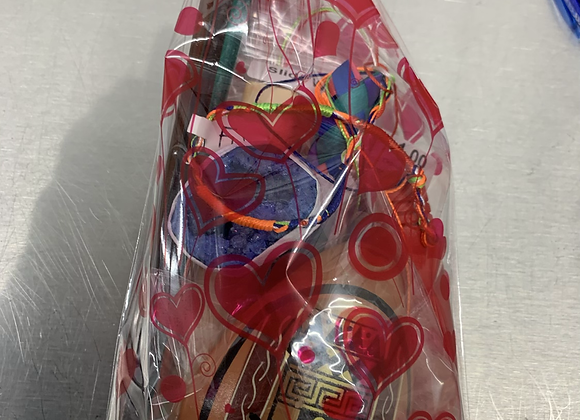 Children's valentines grab bag