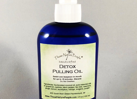 Mouth Pulling Oil