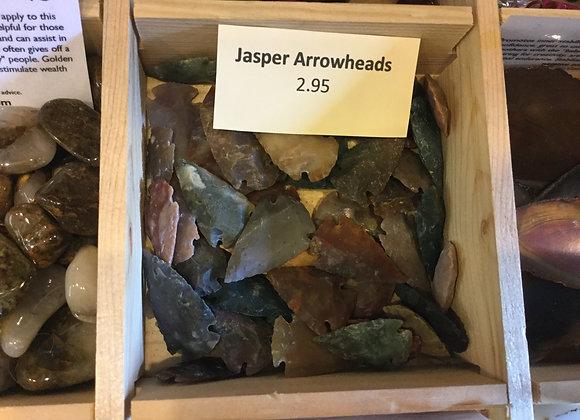 Jasper Arrowheads
