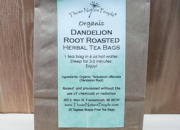Dandelion Root Roasted Herbal Tea Bags
