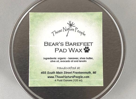 Bear's Barefeet Pad Wax