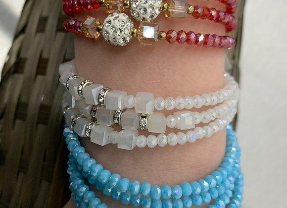Spring Sparkle Bracelet Set