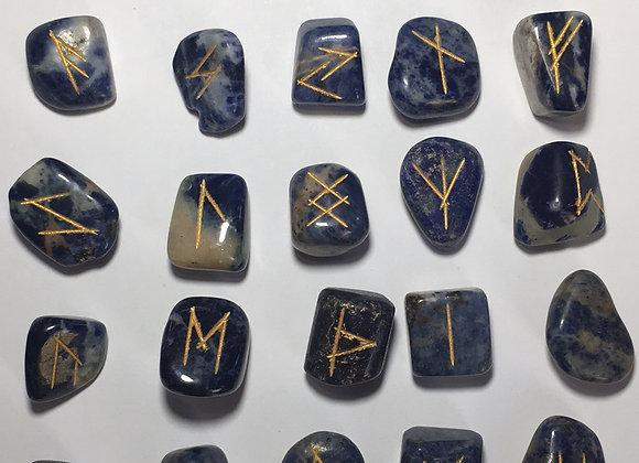 Runic Symbol Set - Sodalite