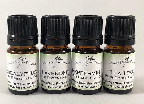 Essential Oil Starter Kit (4 pack)