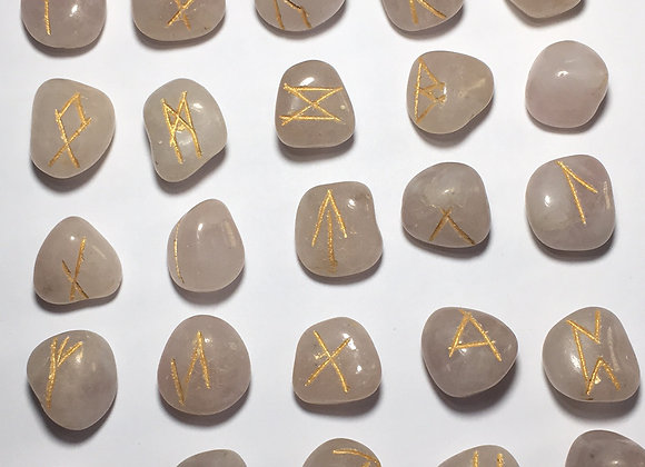 Runic Symbol Set - Rose Quartz
