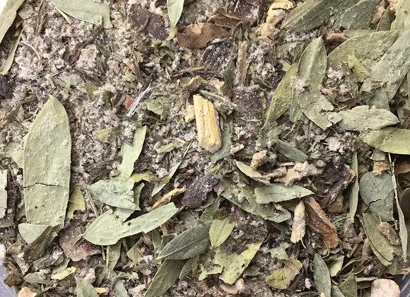 Scrub Your Plumbing Herbal Tea