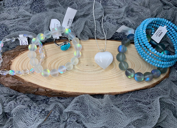 Blue Is You Jewelry Set