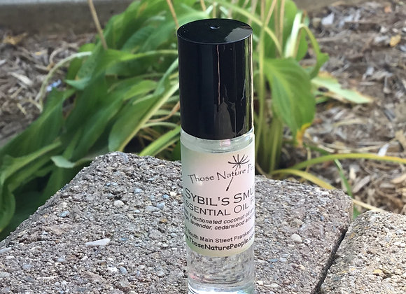 Sybil's Smudge Essential Oil Roller